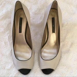 EUC Bandolino Shelley Peep Toe Heels Size - 7.5 M